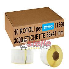 ETICHETTE ADESIVE mm 100X150 PPL BIANCO ROTOLO DA 500 PZ PER STAMPANTI TERMICHE