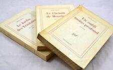 BOSCO Souvenirs Gallimard 3 vol TRILOGIE COMPLETE EDITION ORIGINALE GRAND PAPIER