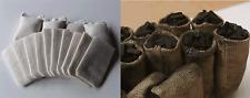 100 Säcke für Kohle Sand Post Mehl für Ihre LGB Bahn (Säcke NICHT gealterte)