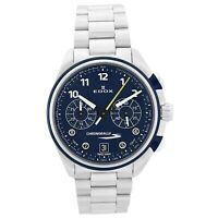 NEW Edox Chronorally-S Men's Chronograph Watch - 09503 3BUM BUBG