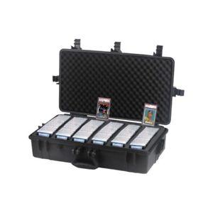 XXL Graded Card Storage Box Heavy Duty Weatherproof Case Slab Holder & Protector