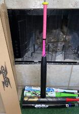 """MIKEN Flex Fifty Technology Softball Bat 34"""" Inch 30oz 34-30 Pink Black Lime"""