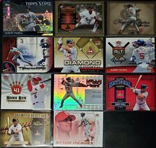 New listing ALBERT PUJOLS LOT OF (48) DIFFERENT CARDS w/23 INSERTS NM-MINT ANGELS CARDINALS