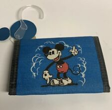 Disney Mickey Mouse Happiness Velcro Wallet by Junk Food | New |