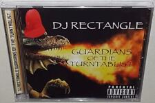 DJ RECTANGLE GUARDIANS OF THE TURNTABLIST (2014) BRAND NEW SEALED HIP HOP MIX CD