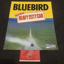 Vintage Nissan Bluebird Brochure JDM Rare 76-79 77 78 Datsun 810 200B 180B 160B