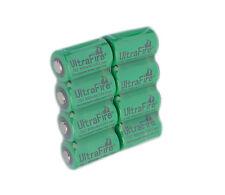 8X UltraFire CR2 800mAh 3.0V 15270 Rechargeable Li-Ion Battery Quantity 8