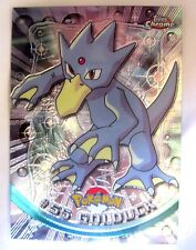 Goldduck 2000 Topps Chrome Pokemon Golduck Chrome Card#55-Pokemon Chrome Card