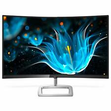 """Philips 32"""" Curved Frameless Monitor Full HD 1080P PC Gaming PS4 HDMI Xbox Apple"""
