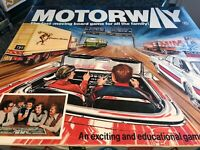 Vintage Very Rare Motorway Family Board Game 1978