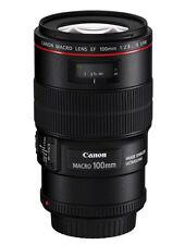 Canon EF 100mm 2.8 2,8 L Macro IS USM exposición canon-distribuidor * 2873