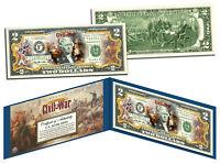 American CIVIL WAR * Battle of New Orleans * Legal Tender U.S. Colorized $2 Bill