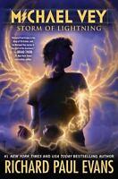 Michael Vey Series Book 5 Storm of Lightning Lightening by Richard Paul Evans HC