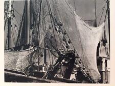 Paul Strand Vintage Gravure Photograph, Fishing Nets C.1950'S