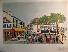 """Michael Hermel, 14th of July Ball,"""" Signed Lithograph w/COA"""
