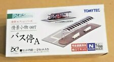 TOMYTEC 1/150 MODERN BUS STOP KIT, JAPANESE AN IMPORT, GREAT FOR YOUR LAYOUT!