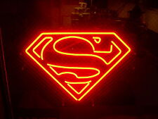"New Superman Super Hero Neon Light Sign 17""x14"""