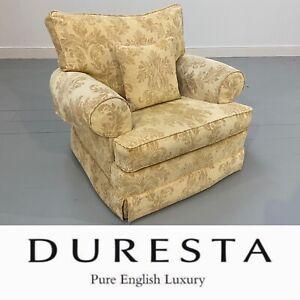 RRP £1995-Beautiful Large Duresta Waldorf Lounge/Library/Snug Handmade Armchair
