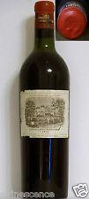 Vin Chateau LAFITE ROTHSCHILD 1952 Pauillac Grand Cru Classé Bordeaux rouge wine
