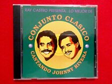 SUPER RARE LO MEJOR DE CONJUNTO CLASICO CANTANDO JOHNNY RIVERA SALSA CD LATIN CD