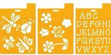 Delta Stencil Mania - 3 Pack - Flowers