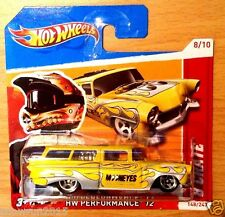 HOT WHEELS 8 CRATE MOONEYES 12 UNIQUE RED SHORT CARD HW PERFORMANCE12 NIB