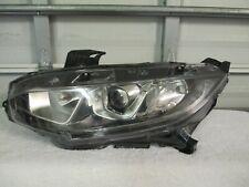 2016,2017,2018 Honda Civic Left Halogen Headlight(OEM)