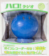 Gundam Mascot Robot Haro Blue Ver. Radio with Voice Recorder JAPAN ANIME MANGA