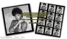 Vanessa del Rio Photo & Contact Sheet VERY RARE! 1990's Signed AFT BUY w/COA