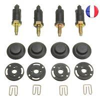 Kit 4 Vis + Clips Cache Moteur HDI Support pour Peugeot 206 207 306 307 806