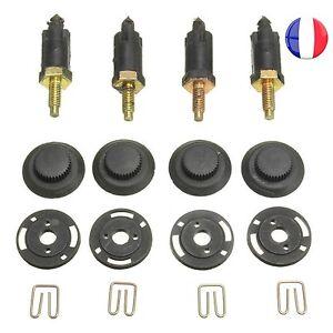 4 VIS et 4 CLIPS FIXATION Cache Moteur HDI pour Peugeot 206 207 306 307 806 v