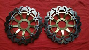 HONDA CBR600 99-00 FX FY front brake discs x2 pair