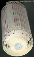 5 Meter Blank Punchcard Roll 15PCS 24St + 4 Snaps for Brother Singer KH860 SK280