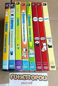 I GRIFFIN Stagioni 1/8 DVD cofanetti 20th Century Fox Usati OTTIMI SC44