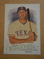 2016 Topps Allen & Ginter 5x7 2/49 #3 Joey Gallo Rangers