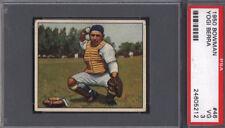 1950 Bowman #46 Yogi Berra Yankees PSA 3 Well Centered *678977