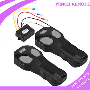 12V Recovery Wireless Winch Remote Control 443MHz for Off roaders Recovery truck