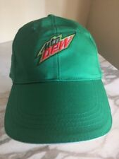 Mountain Dew Cap Hat Green One size adjustable