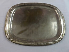 Large Vintage Silver Plated Tray
