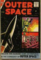 "Outer Space #19-1958 fn 6.0 Charlton Steve Ditko Rocco ""Rocke"" Mastroserio"