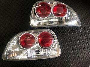 93-97 Honda Civic Del Sol Clear Tail Lights