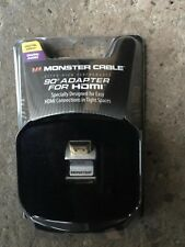 MONSTER CABLE 90 DEGREES RIGHT ANGLED ADAPTER FOR HDMI