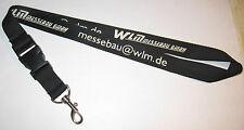 WLM Messebau GmbH Schlüsselband Lanyard NEU (T97)