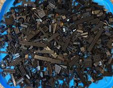 Lego Black Lot of 2 Pounds Brick Plates Flats Specialty Modified Bulk Pieces