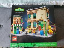 Brand New Sealed LEGO IDEAS 123 Sesame Street 21324