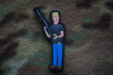 Boomhauer Hill King Of The Hill 3D PVC Morale Patch Moeguns