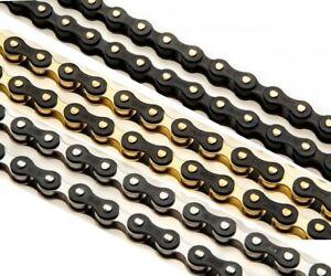 """IZUMI JET BLACK 1/2"""" x 1/8"""" Bike Wide Chain, Fixed Gear, Single Speed Track BMX"""