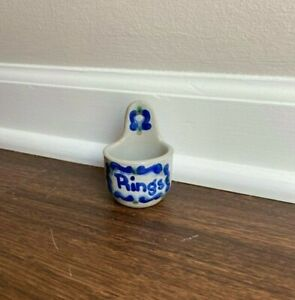 """M. A. Hadley Pottery, """"Rings"""" HOLDER CUP"""