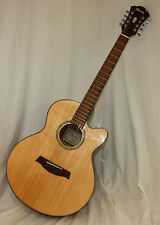 "Ibanez AEL108TD-NT 8-String (Double E&B) Acoustic-Electric ""Store Display"""