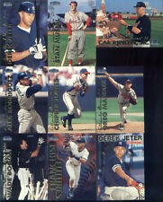 1999 FLEER COMPLETE CARD SET IN ULTRA PRO PAGES AND BINDER